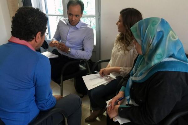 Collectif des Familles de disparus en Algérie — 6ème session du cycle de formations en communication du CFDA