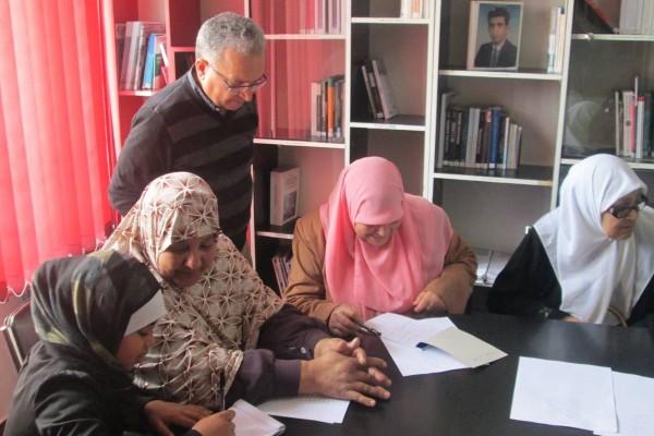 Collectif des Familles de disparus en Algérie — Atelier : Pour que nul n'oublie