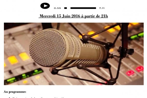 Collectif des Familles de disparus en Algérie — Soirée de lancement de Radio Des Sans Voix