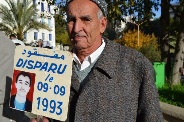 Collectif des Familles de disparus en Algérie — Hommage à Arab MILIS