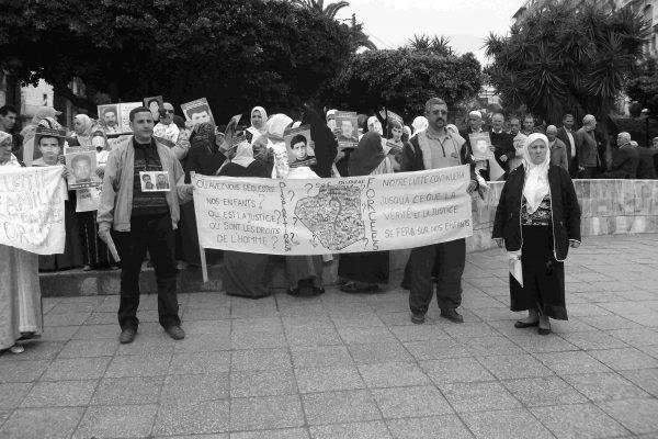 Collectif des Familles de disparus en Algérie — Dénonciation de l'arrestation du militant Belkacem Khencha