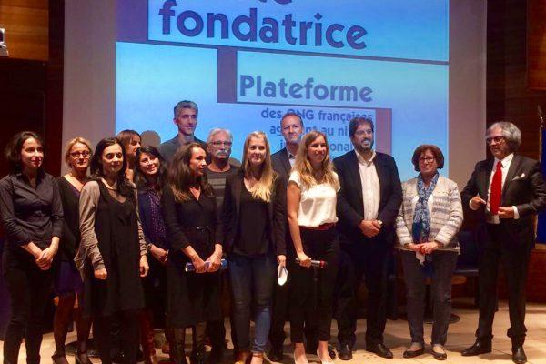 Collectif des Familles de disparus en Algérie — Lancement de la plateforme française des ONG de droits de l'Homme agissant à l'international