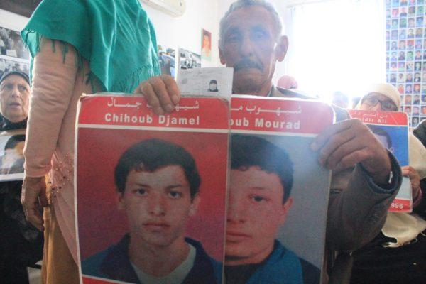 Collectif des Familles de disparus en Algérie — 7 avril 2018 : hommage a la résistance des familles des disparus