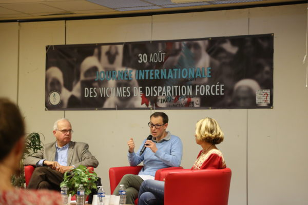 Collectif des Familles de disparus en Algérie — Conférence – débat à l'occasion de la journée internationale des victimes de disparition forcée : « lutter contre l'impunité »