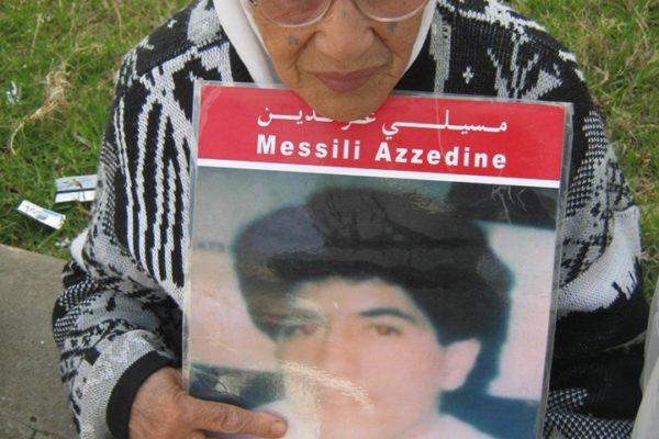 Collectif des Familles de disparus en Algérie — Hommage à madame Messili