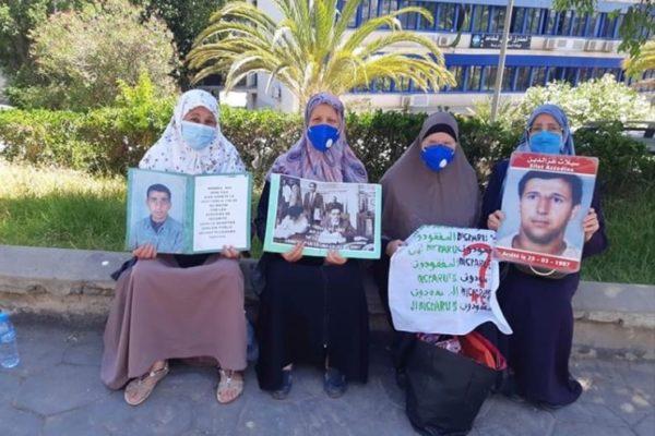 Collectif des Familles de disparus en Algérie — Les familles de disparus toujours présentes sur le terrain